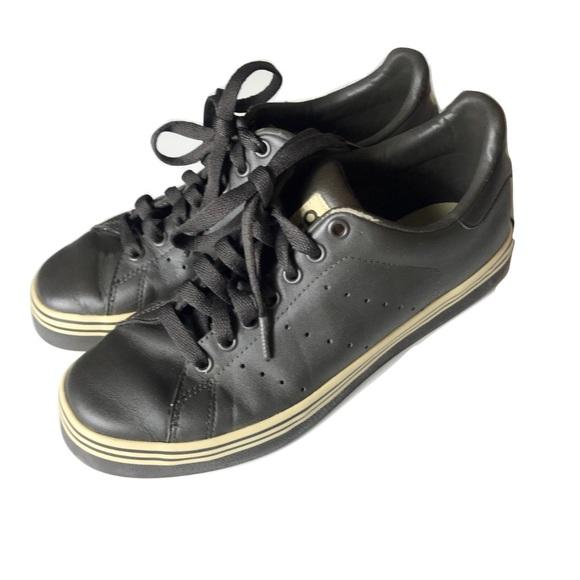 new concept d27c0 4b35d Adidas Originals Stan Smith Brown Leather shoes